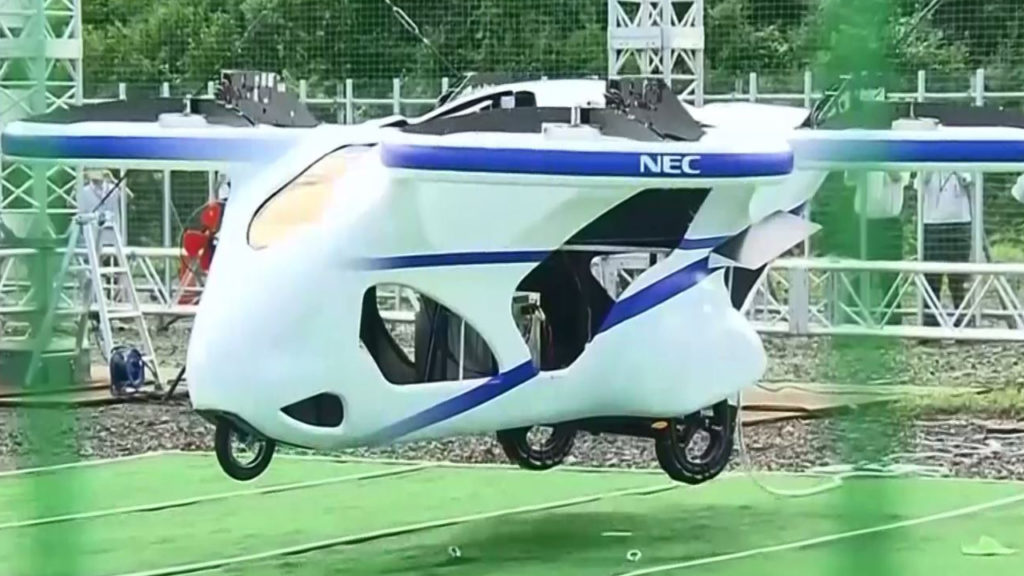 The car that flies exists for real! The case of Japan