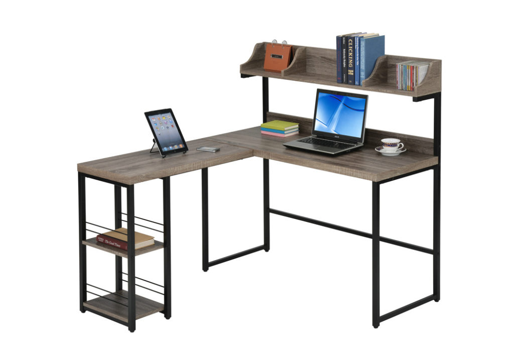 A multifunctional desk for dormitories and small rooms