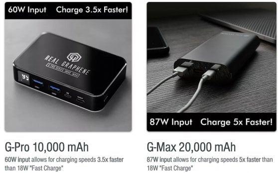 smartphone graphene battery
