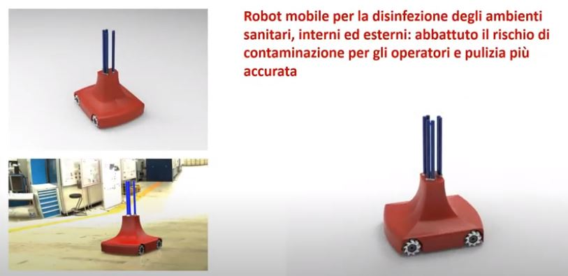 robot for disinfection